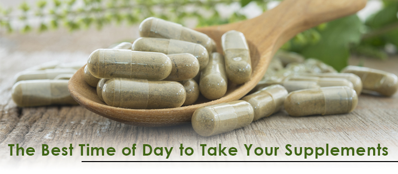 The Best Time of Day to Take Your Supplements