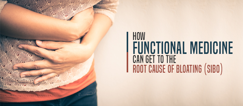 How Functional Medicine can get to the ROOT CAUSE of bloating (SIBO)