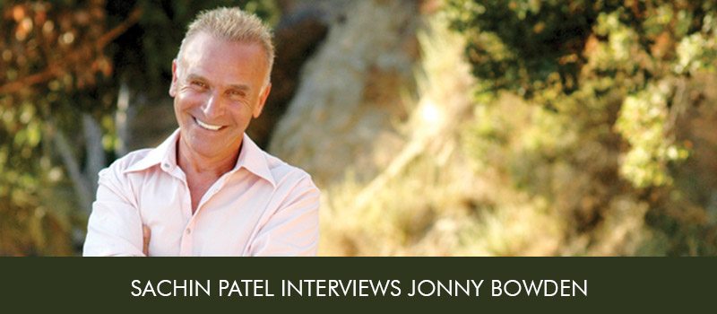 Sachin Patel Interviews Jonny Bowden