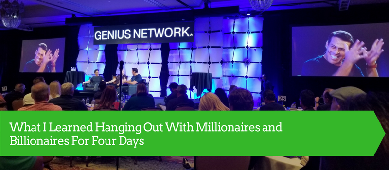 What I Learned Hanging Out With Millionaires and Billionaires for Four Days